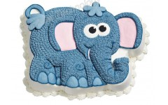 Elephant Shape cake