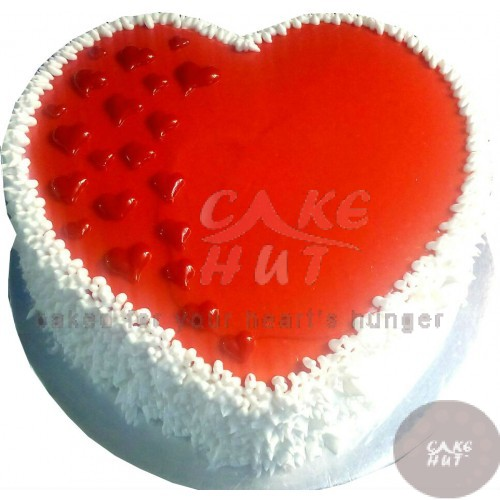 Red Heart Birthday Cakes Cochin Send Cake To Cochin Ernakulam