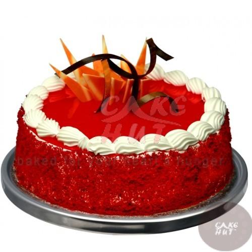 Red Velvet Cake Birthday cakes cochinSend cake to cochinErnakulam