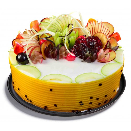 Fresh Cream Fruit Cake Images
