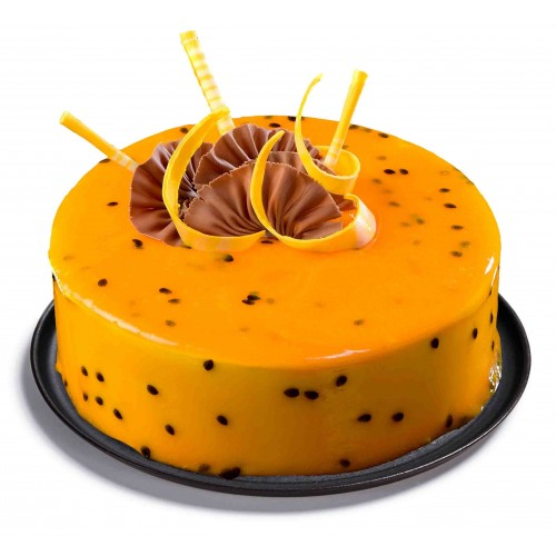 Passion Fruit Cake Birthday Cakes CochinSend To Cochin
