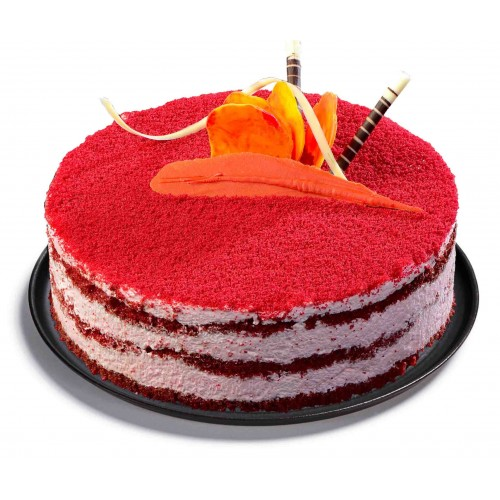 Red Velvet Cheese Cake: Birthday Cakes Cochin,Send Cake To