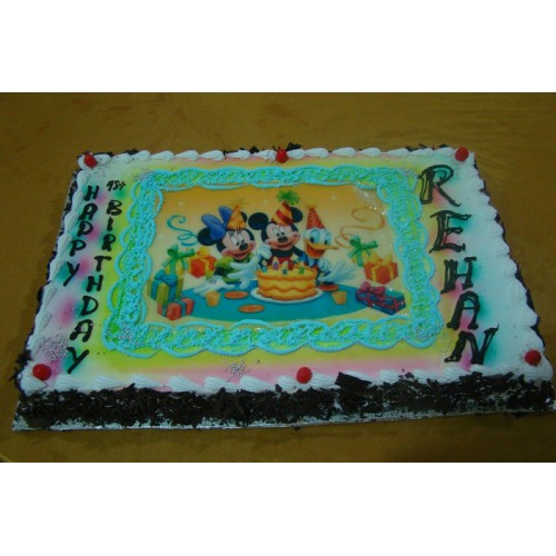 Birthday Cake Image Upload : Photo Cake [upload picture]: Birthday cakes cochin,Send ...